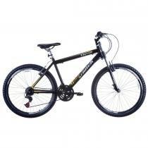 Bicicleta Aro 26 Alumínio Suspensão Dianteira TK600 Preto - Track Bikes - Track Bikes