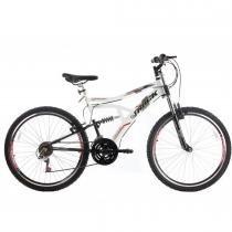 Bicicleta Aro 26 Boxxer New Suspensão DownHill Branco - Track Bikes - Track Bikes