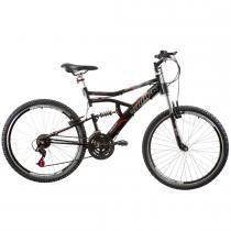 Bicicleta Aro 26 Boxxer New Suspensão DownHill Preto Fosco - Track Bikes - Preto - Track  Bikes