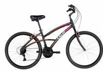 Bicicleta aro 26 caloi 300 feminina 21 velocidades -