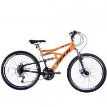 Bicicleta Aro 26 Disk Brake 21V MTB TB500 Laranja - Track Bikes - Laranja - Track  Bikes