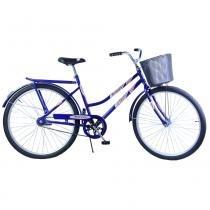 Bicicleta Aro 26 Feminina Freio no Pé CP Malaga Azul - Dalannio Bike