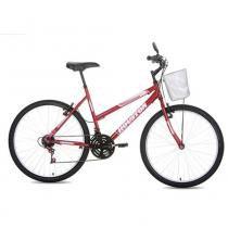 Bicicleta Aro 26 Foxer Maori Vermelho  - Houston -