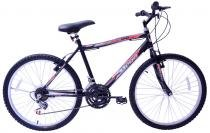 Bicicleta aro 26 mega bike sport com 21 marchas passeio mtb -