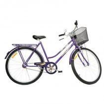 Bicicleta Aro 26 Monark Barra Circular Freio Varao - roxo - Monark