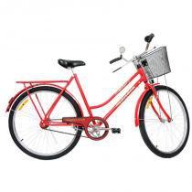 Bicicleta Aro 26 Monark Barra Circular Freio Varao - vermelho - Monark