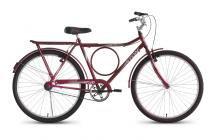 Bicicleta Aro 26 Rural V-Brake S/M Stone Bike - Vermelha - Stone Bike