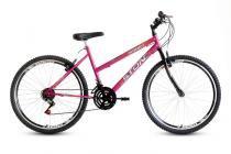 Bicicleta Aro 26 Smart GT 21V Feminina Stone Bike - Pink - Stone Bike