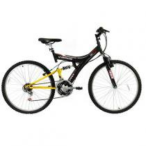 Bicicleta Aro 26 TB100XS/PA, 18 Marchas, V-Brake, Quadro Aço Carbono Track Bikes - Track Bikes
