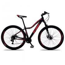Bicicleta Aro 29 Feminina Cambios Shimano 21v Preto Rosa Ksw -