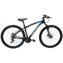 Bicicleta Aro 29 Mountain Bike Polimet Nitro 7162  - Freio a Disco 21 Marchas Câmbio Shimano