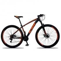 Bicicleta Aro 29 Xlt Cambios Shimano 21v Preto Laranja Ksw -
