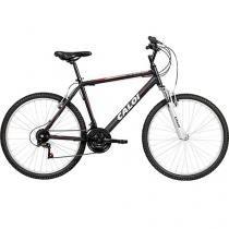 Bicicleta Caloi Aluminum Sport Mountain Bike Aro26 - 21 Marchas Suspensão Dianteira Quadro em Alumínio