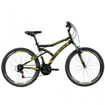 Bicicleta Caloi Andes Aro 26 21 Marchas - Suspensão Dianteira Freio V-brake