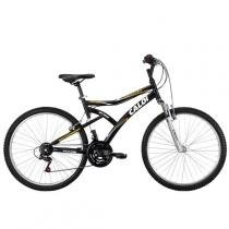 Bicicleta Caloi Andes, Aro 26, Quadro Aço Carbono e Suspensão Dianteira -