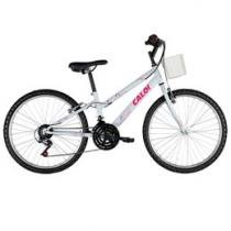 Bicicleta Caloi Ceci Aro 24 21 Marchas - Quadro de Aço Freio V-brake
