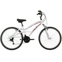Bicicleta Caloi Fem A16 Aro 26 21 Marchas - Quadro Alumínio Freio V-brake