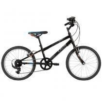 Bicicleta Caloi Hot Wheels Cideck Aro 20, 7 Marchas, Preta -