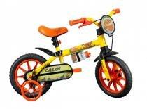 Bicicleta Caloi Infantil Power Rex Aro 12 Amarela -