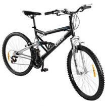 Bicicleta Caloi KS Mountain Bike Aro 26 21 Marchas - Full Suspension Quadro Alumínio Freio V-brake