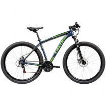 Bicicleta Caloi Predator Aro 29 21 Marchas  - Suspensão Dianteira Quadro de Alumínio