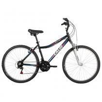 Bicicleta Caloi Rouge 26, Aro 26, 21 Velocidades, Preta - caloi