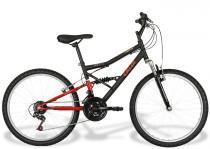 Bicicleta Caloi Shok Aro 24 21 Marchas - Quadro de Aço FULL - Caloi