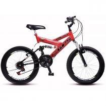 Bicicleta Colli Aro 20 Dupla Suspensão 36 Raias Freios V-Brake - 310 -
