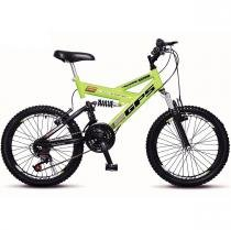 Bicicleta Colli Aro 20 Dupla Suspensão 36 Raias Freios V-Brake - 310 - Colli