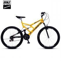 Bicicleta Colli Aro 26 Dupla Suspensão 36 Raias Freios V-Brake - 148 - Colli