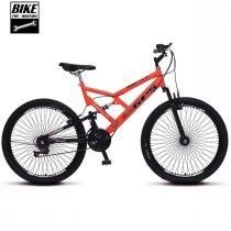 Bicicleta Colli Aro 26 Dupla Suspensão 72 Raias 21 Marchas Freios VBrake - 156 -