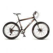 Bicicleta Colli Aro 26 Force One MTB 300/11 21 Marchas Preto/Laranja - Colli