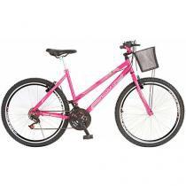 Bicicleta Colli Bike Adulto Allegra City Aro 26 - 18 Marchas Quadro de Aço Freio V-Brake