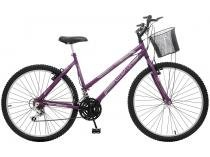 Bicicleta Colli Bike Alegra City Aro 26 18 Marchas - Freio V-Brake