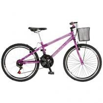 Bicicleta Colli Bike Allegra City Aro 24 - 18 Marchas Freio V-brake