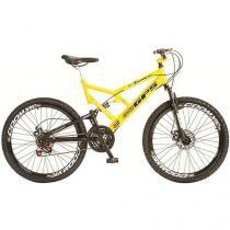 Bicicleta Colli Bike Aro 26 21 Marchas - Dupla Suspensão Quadro de Aço Freio a Disco