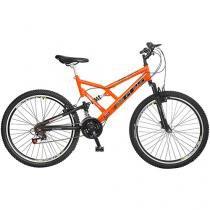 Bicicleta Colli Bike GPS Aro 26 21 Marchas - Quadro de Aço Freio V-brake