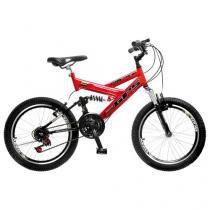 Bicicleta Colli Bike GPS Pro Aro 20 21 Marchas - Freio V-brake