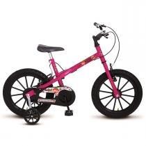Bicicleta Colli MTB Aro 16 Feminino Detalhes Preto - 123-10 -