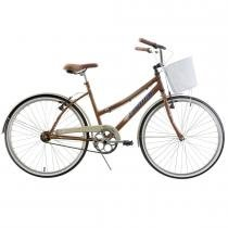 Bicicleta Confort Classic Plus Estilo Retrô Aro 26 Marrom - Track Bikes - Track  Bikes