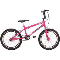 Bicicleta Cross Energy Aro 20 Rosa Barbie - Mormaii -