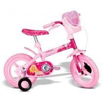 Bicicleta da Barbie Aro 12 Rosa Vivo A11 - Caloi - Barbie