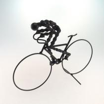 Bicicleta Decorativa Em Metal Preta - MaisAZ