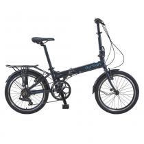 Bicicleta dobrável 7 marchas grafite - BAY PRO - Durban