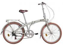 Bicicleta dobrável Blitz Fit Aro 24 gelo -