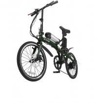 Bicicleta Dobrável Pliage + Kit Elétrico Verde Two Dogs -