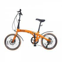 Bicicleta Dobrável Pliage Laranja Two Dogs -