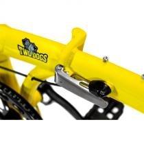 Bicicleta Dobrável Pliage Plus Amarela Two Dogs -