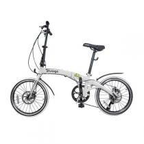 Bicicleta Dobrável Two Dogs Pliage Branco -