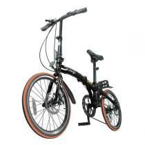 Bicicleta Dobrável Two Dogs Pliage Preta -